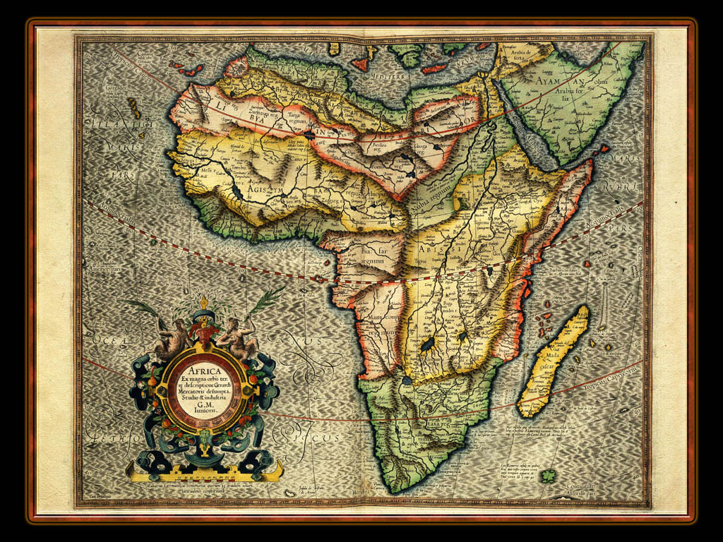 """Gerhard Mercator 1595 World Atlas - Cosmographicae"" - Wallpaper No. 104 of 106. Right click for saving options."