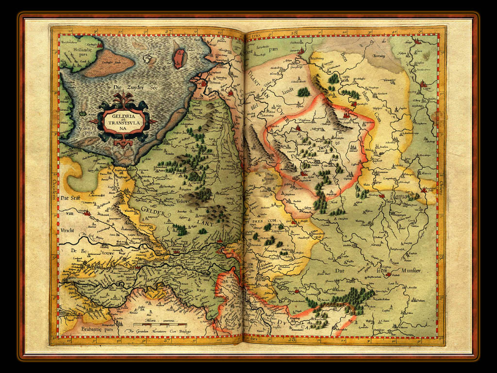 """Gerhard Mercator 1595 World Atlas - Cosmographicae"" - Wallpaper No. 52 of 106. Right click for saving options."
