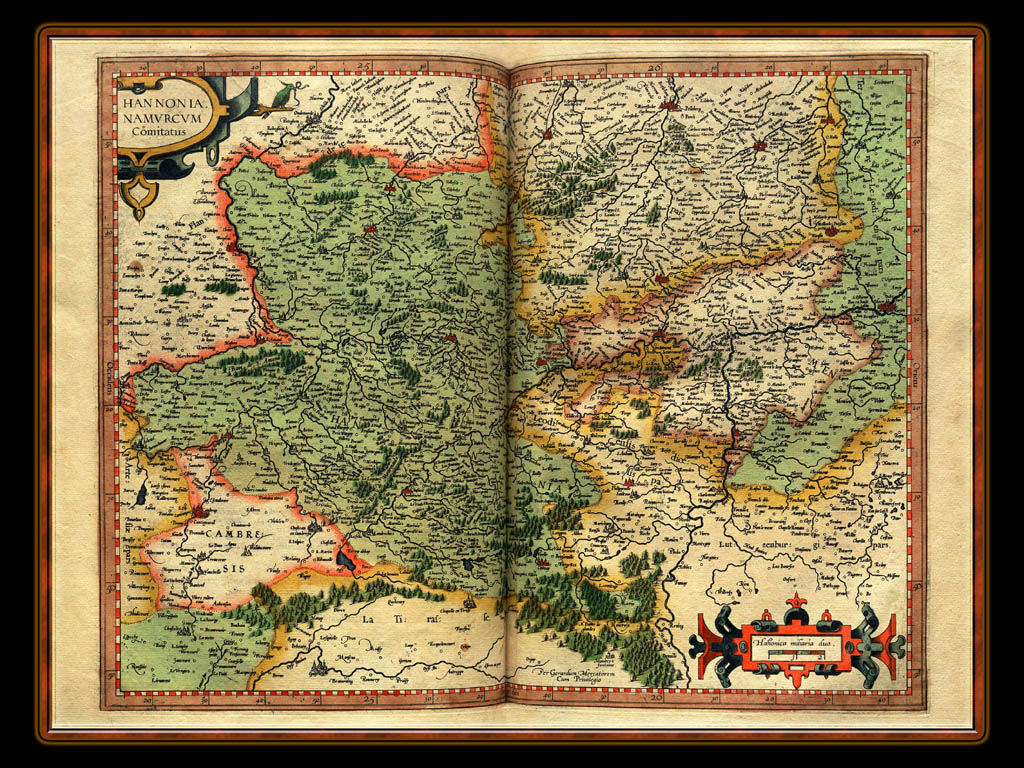 """Gerhard Mercator 1595 World Atlas - Cosmographicae"" - Wallpaper No. 50 of 106. Right click for saving options."