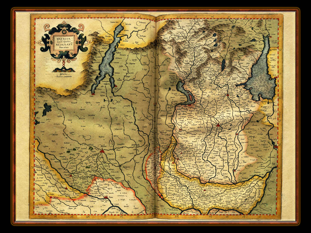 """Gerhard Mercator 1595 World Atlas - Cosmographicae"" - Wallpaper No. 17 of 106. Right click for saving options."