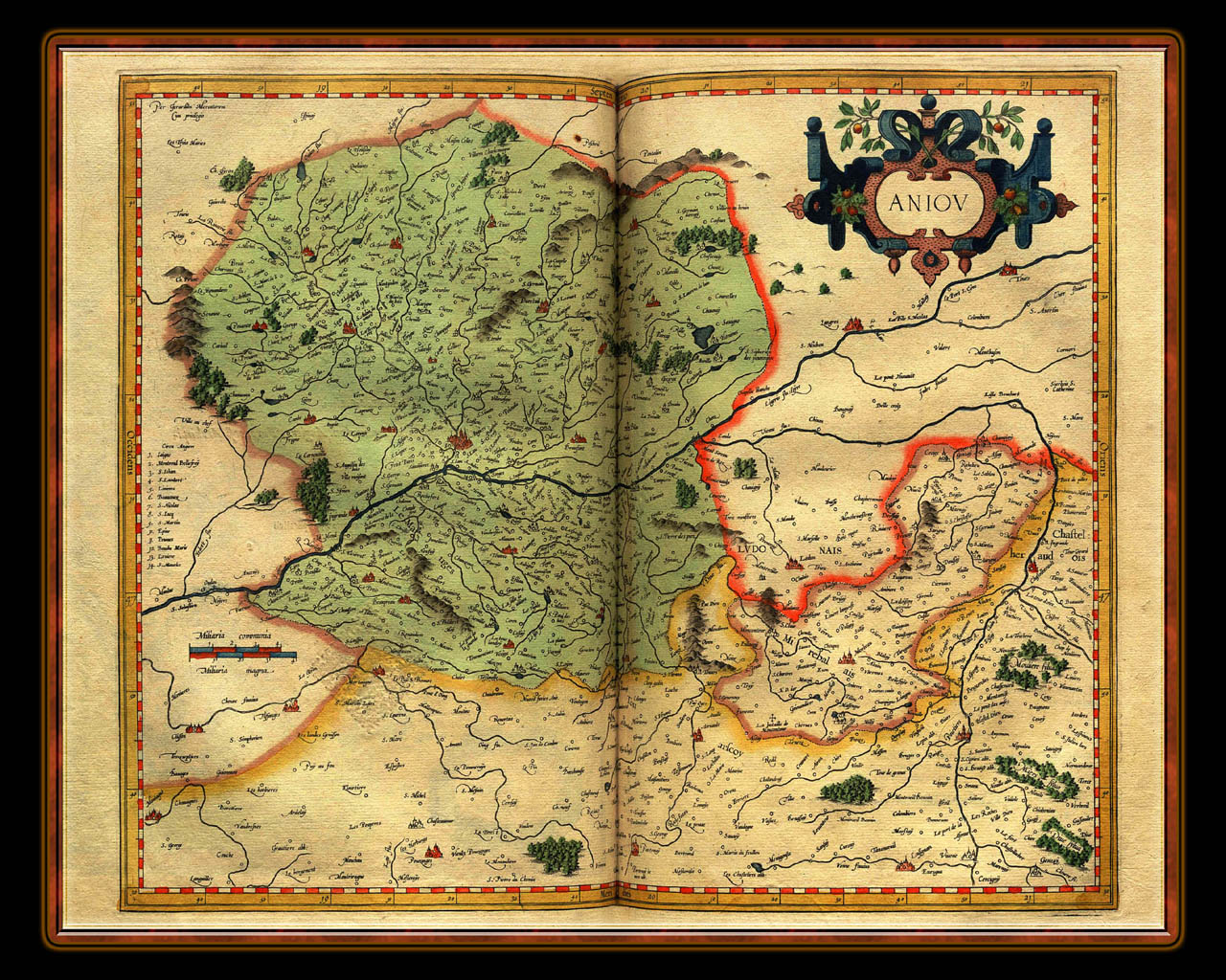 """Gerhard Mercator 1595 World Atlas - Cosmographicae"" - Wallpaper No. 68 of 106. Right click for saving options."
