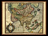 """Gerhard Mercator 1595 World Atlas - Cosmographicae"" - Wallpaper No.103.  Click for 640x480 or select another size."