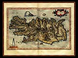 """Gerhard Mercator 1595 World Atlas - Cosmographicae"" - Wallpaper No.100.  Click for 640x480 or select another size."