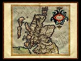 """Gerhard Mercator 1595 World Atlas - Cosmographicae"" - Wallpaper No.98.  Click for 640x480 or select another size."