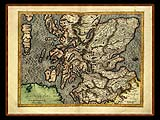 """Gerhard Mercator 1595 World Atlas - Cosmographicae"" - Wallpaper No.96.  Click for 640x480 or select another size."
