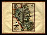 """Gerhard Mercator 1595 World Atlas - Cosmographicae"" - Wallpaper No.91.  Click for 640x480 or select another size."