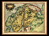 """Gerhard Mercator 1595 World Atlas - Cosmographicae"" - Wallpaper No.83.  Click for 640x480 or select another size."