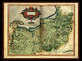 """Gerhard Mercator 1595 World Atlas - Cosmographicae"" - Wallpaper No.79.  Click for 640x480 or select another size."