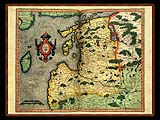 """Gerhard Mercator 1595 World Atlas - Cosmographicae"" - Wallpaper No.77.  Click for 640x480 or select another size."