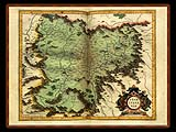 """Gerhard Mercator 1595 World Atlas - Cosmographicae"" - Wallpaper No.74.  Click for 640x480 or select another size."
