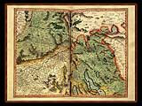 """Gerhard Mercator 1595 World Atlas - Cosmographicae"" - Wallpaper No.60.  Click for 640x480 or select another size."