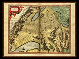 """Gerhard Mercator 1595 World Atlas - Cosmographicae"" - Wallpaper No.59.  Click for 640x480 or select another size."