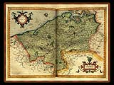 """Gerhard Mercator 1595 World Atlas - Cosmographicae"" - Wallpaper No.56.  Click for 640x480 or select another size."