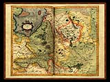 """Gerhard Mercator 1595 World Atlas - Cosmographicae"" - Wallpaper No.52.  Click for 640x480 or select another size."