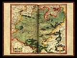 """Gerhard Mercator 1595 World Atlas - Cosmographicae"" - Wallpaper No.34.  Click for 640x480 or select another size."