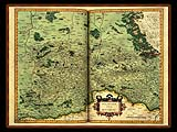 """Gerhard Mercator 1595 World Atlas - Cosmographicae"" - Wallpaper No.31.  Click for 640x480 or select another size."