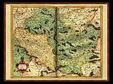 """Gerhard Mercator 1595 World Atlas - Cosmographicae"" - Wallpaper No.24.  Click for 640x480 or select another size."