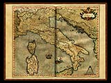 """Gerhard Mercator 1595 World Atlas - Cosmographicae"" - Wallpaper No.22.  Click for 640x480 or select another size."