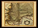 """Gerhard Mercator 1595 World Atlas - Cosmographicae"" - Wallpaper No.19.  Click for 640x480 or select another size."