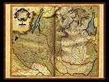 """Gerhard Mercator 1595 World Atlas - Cosmographicae"" - Wallpaper No.17.  Click for 640x480 or select another size."