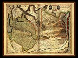 """Gerhard Mercator 1595 World Atlas - Cosmographicae"" - Wallpaper No.16.  Click for 640x480 or select another size."