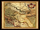 """Gerhard Mercator 1595 World Atlas - Cosmographicae"" - Wallpaper No.6.  Click for 640x480 or select another size."
