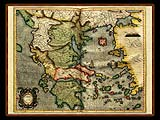 """Gerhard Mercator 1595 World Atlas - Cosmographicae"" - Wallpaper No.4.  Click for 640x480 or select another size."