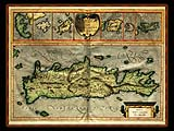 """Gerhard Mercator 1595 World Atlas - Cosmographicae"" - Wallpaper No.1.  Click for 640x480 or select another size."