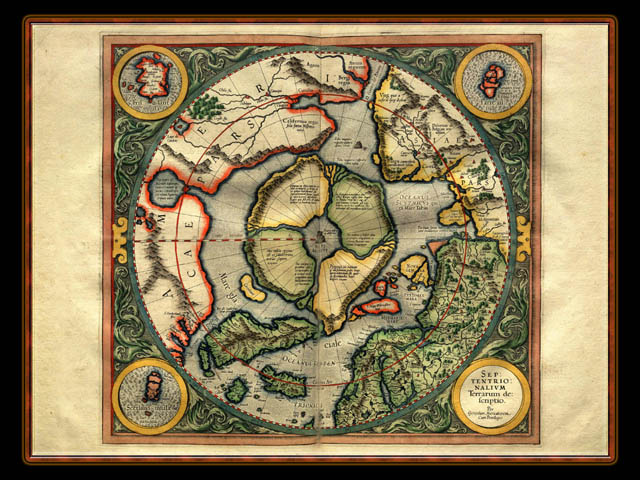 """Gerhard Mercator 1595 World Atlas - Cosmographicae"" - Wallpaper No. 101 of 106. Right click for saving options."