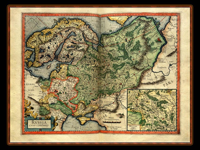 """Gerhard Mercator 1595 World Atlas - Cosmographicae"" - Wallpaper No. 76 of 106. Right click for saving options."