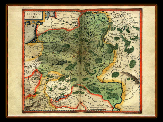 """Gerhard Mercator 1595 World Atlas - Cosmographicae"" - Wallpaper No. 75 of 106. Right click for saving options."