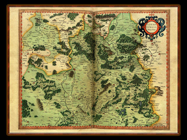 """Gerhard Mercator 1595 World Atlas - Cosmographicae"" - Wallpaper No. 65 of 106. Right click for saving options."
