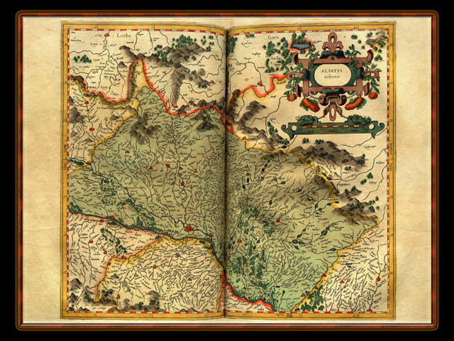 """Gerhard Mercator 1595 World Atlas - Cosmographicae"" - Wallpaper No. 39 of 106. Right click for saving options."